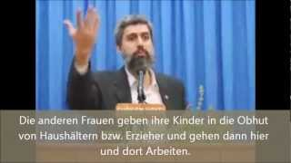 Dürfen Frauen arbeiten? Imam Alparslan Kuytul