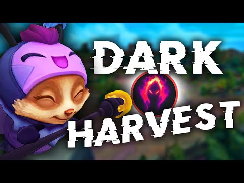 When a Teemo Main picks Dark Harvest