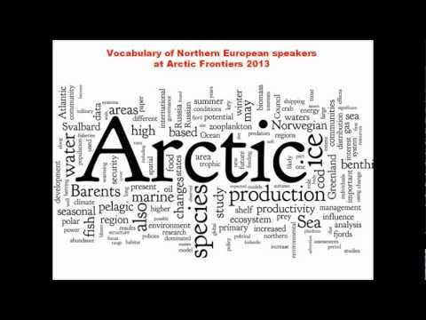 Arctic Frontiers 2013 - the words and the analysis