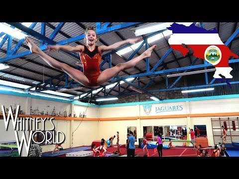 Gymnastics in Costa Rica | Whitney Bjerken