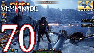 Warhammer Vermintide 2 PC 4K Walkthrough - Part 70 - The Skittergate Cataclysm
