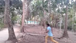 PULIMURUGAN (പുലിമുരുഗൻ -ലാലേട്ടന്റെ  ഫാൻ )WALL FLIP PRACTICE - MADHU FOOTLIGHTS