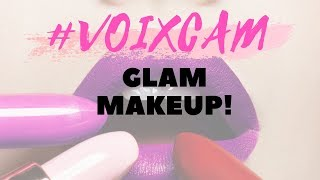 #VOIXCAM Backstage GLAM MAKEUP por Claro Studio!