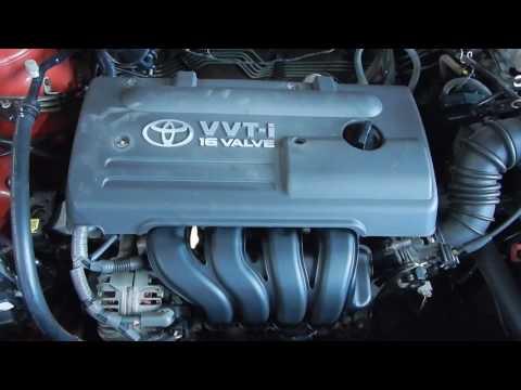 Двигатель Toyota для Corolla E12 2001-2006