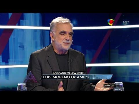 """Luis Moreno Ocampo en """"Animales sueltos"""" de Alejandro Fantino - 05/06/16"""