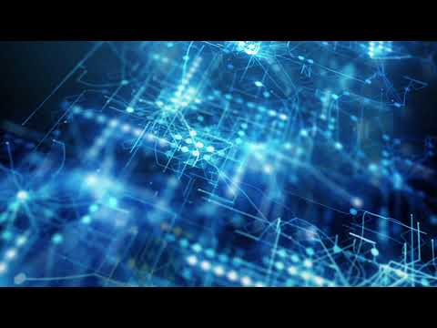 blue abstract futuristic technology background