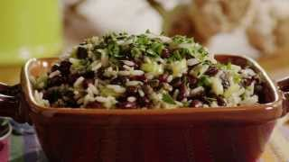 Vegetarian Recipes - Spicy Black Bean and Rice Salad