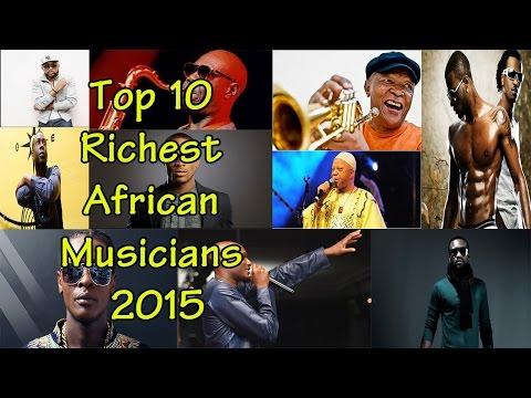 Top 10 Richest African Musicians 2015 | list back