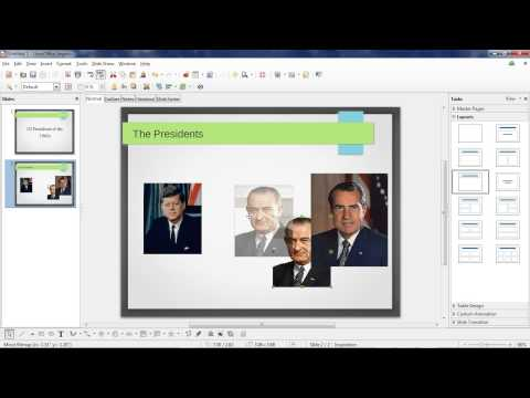 Intro to LibreOffice Impress