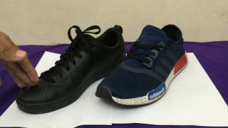 comparison between adidas neo and adidas nmd