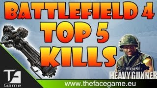 STA PISCIANDO METALLO !! - Top 5 Kills BattleField 4