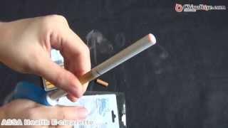ASSA Health E-cigarette Double Single Stem 10pcs Cartridges With USB Charger
