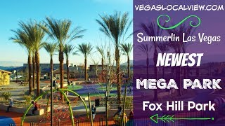 Summerlin Las Vegas Mega Park -  Fox Trail Park