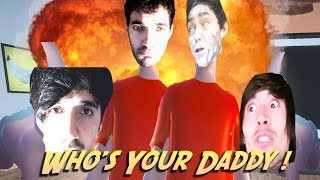 FERNANFLOO, JUEGAGERMAN, BERSGAMER Y ITOWNGAMEPLAY | WHO'S YOUR DADDY: LOS PEORES PADRES
