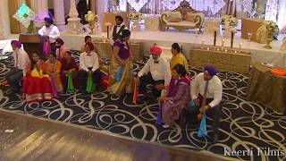 Surprise Performance by Family for the Couple// Punjabi Wedding Performance