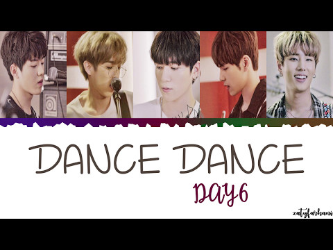 Day6 - Dance Dance Lyrics [Color Coded_Han_Rom_Eng]