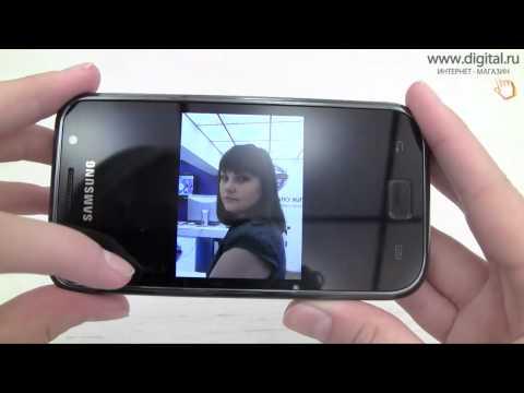 Видеообзор смартфона Samsung Galaxy S (GT-I9000)