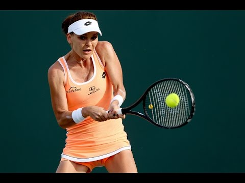 2017 Miami Open Second Round | Agnieszka Radwanska vs Qiang Wang | WTA Highlights