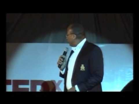 What do you see: Mitchell Elegbe at TEDxVictoriaIsland