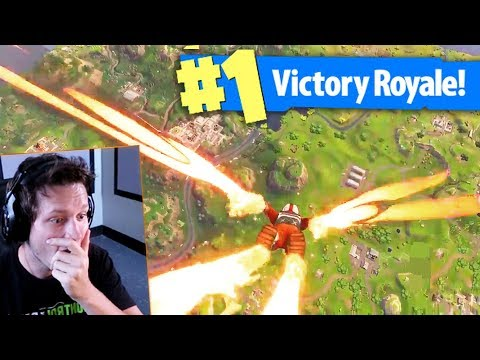 IRON MAN SKYDIVING TRAIL in Fortnite: Battle Royale (Skydive FX Gameplay)