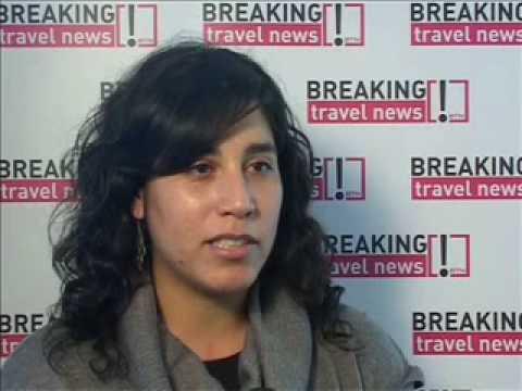 Catalina Huidobro, Press Representative Europe, Chile Tourism @ WTM 2008