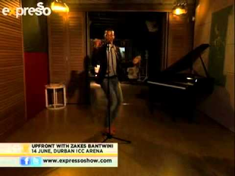 """Upfront with Zakes Bantwini as he performs """"clap your hands """" (4.6.2013)"""
