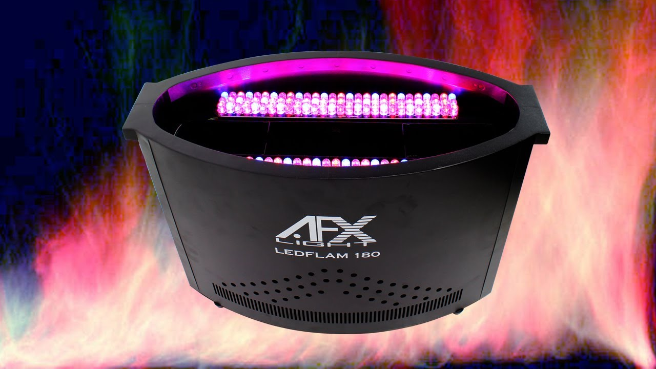 Afx Ledflame180 Led Flame Effect Machine Dj Stage