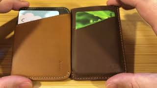 Bellroy Card Sleeve vs Bellroy Micro Sleeve - Review/Comparison
