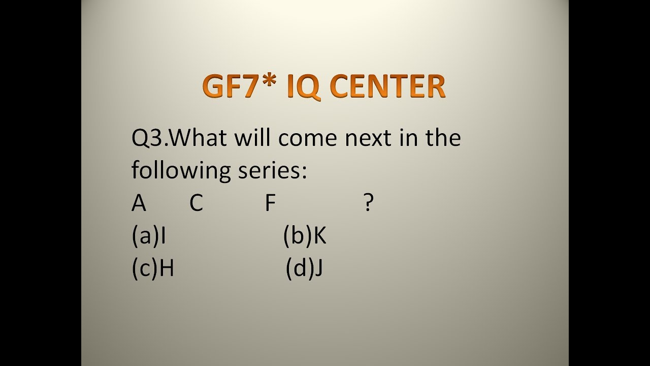 IQ TEST QUESTIONS ONLY A GENIUS CAN ANSWER - YouTube