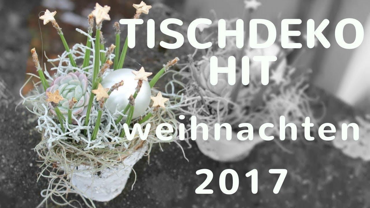 Weihnachtstischdeko 2017 Diy Exklusive Deko In Weiss Silber