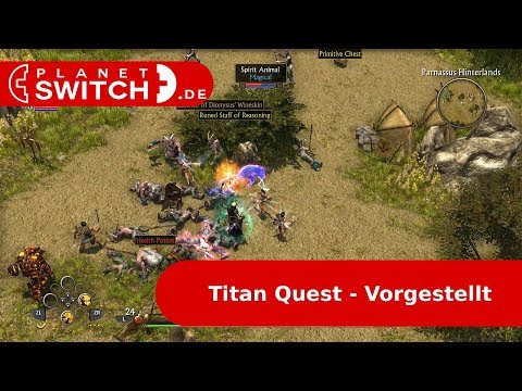 Titan Quest (Switch) - Vorgestellt