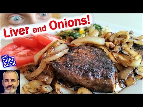Best Liver And Onions If You're Scared Of Liver