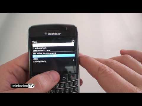 BlackBerry 9700 bold videoreview da Telefonino.net