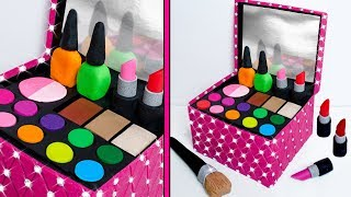 Play Doh MAKE UP Cosmetics Box Making DIY