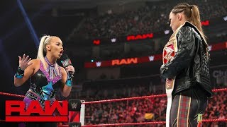 Dana Brooke interrupts Ronda Rousey's bitter tirade: Raw, March 11, 2019