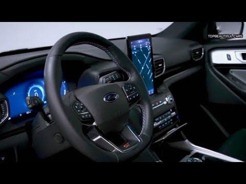 2020 Ford Explorer St Interior Design Youtube