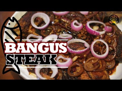 Download Flavorful BANGUS STEAK with extra ONIONS