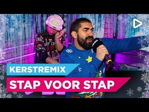 Kav Verhouzer, Sjaak & Joost knallen met kerstremix van Stap voor Stap | SLAM!