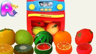 Anna play with fruits and vegetables by Anna Kids