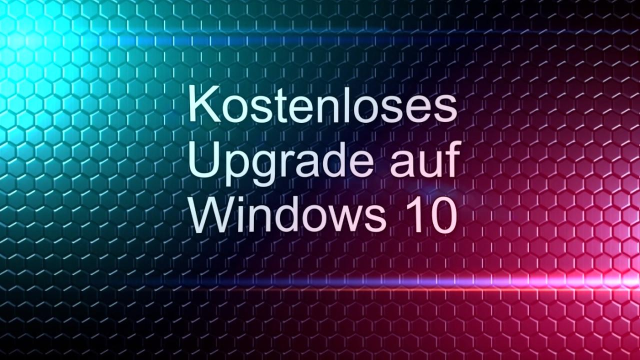 Win 10 Update Kostenlos