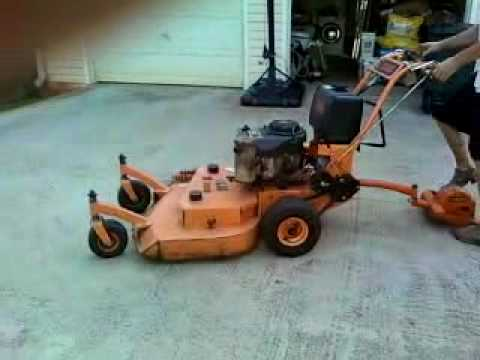 Scag 36 Quot Walk Behind Mower Youtube