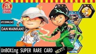 RARE CARD BOBOIBOY | Ayo Download &  Mainkan Kartu Baru Choki Choki AR BoBoiBoy nya