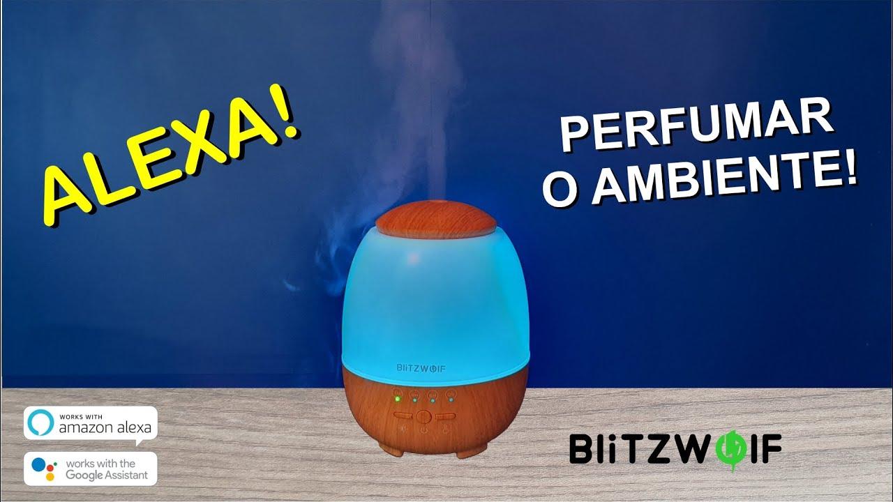 BLITZWOLF Difusor de Aromas Wifi - AROMATERAPIA - Compatível com ALEXA e GOOGLE - TUYA / SMARTLIFE