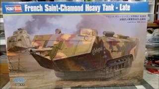 HobbyBoss French Saint-Chamond Heavy Tank - Late, Reveal