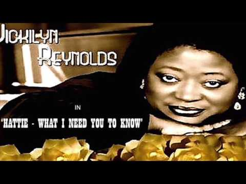 BRUCE HAWES  Speaks About Hollyood Actress  Ms  Vickilyn Reynolds
