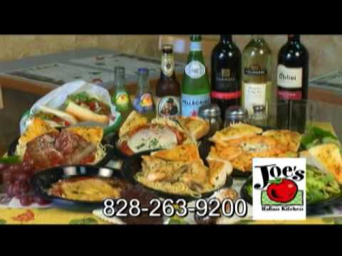 Joe 39 s italian kitchen in boone nc youtube for Joes italian kitchen