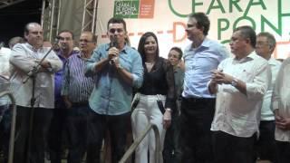 Governador Camilo inaugurou Estrada Morada Nova a Banabuiú