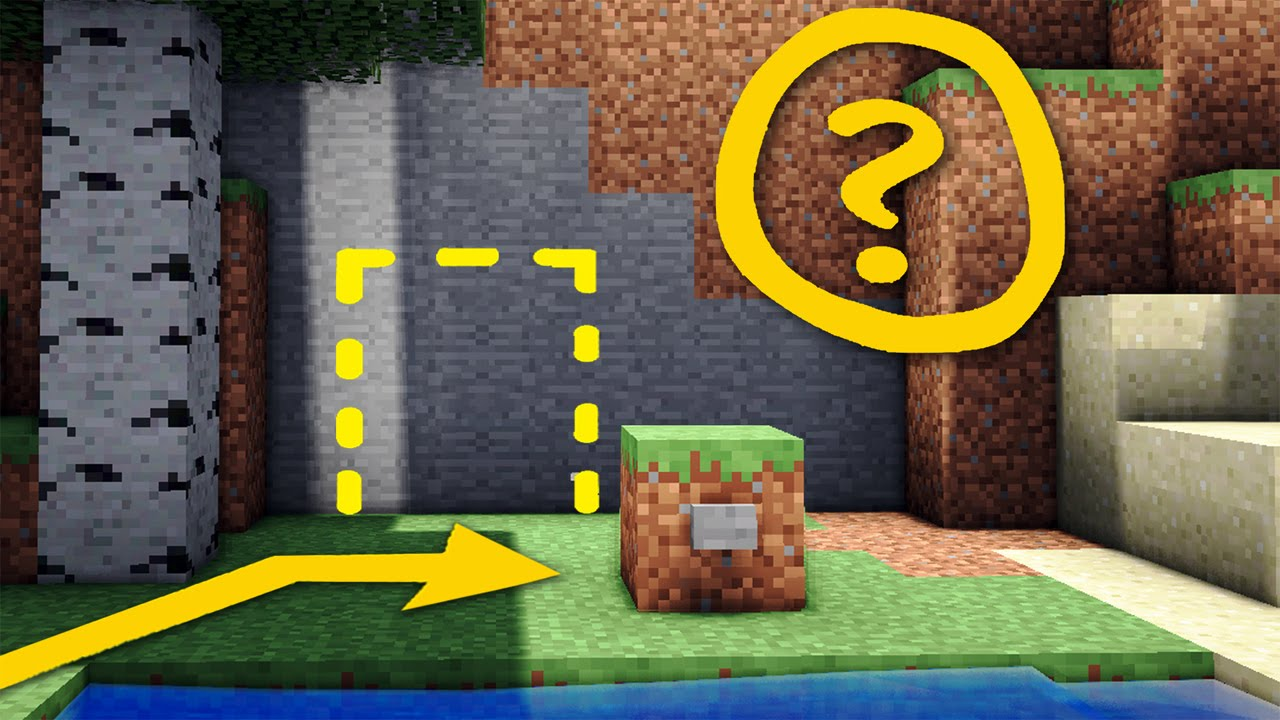 How To Make A Hidden Underground Room In Minecraft
