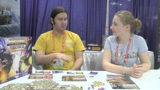 Sentinel Tactics Overview - Living Worlds Games, BGG.CON 2014