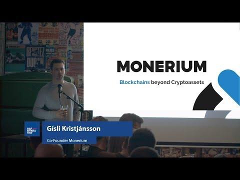 Blockchains Beyond Cryptoassets - Gisli Kristjansson - Icelandic Blockchain Foundation